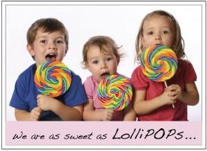 sweet as lollipops