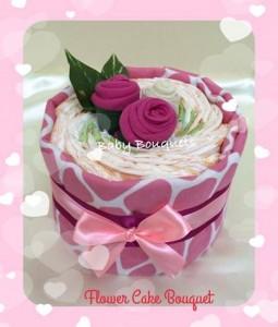 pink flower cake - April 23