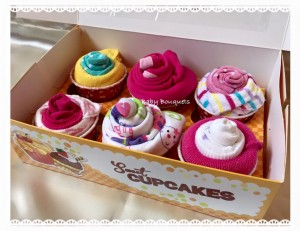 cupcakes baby gift